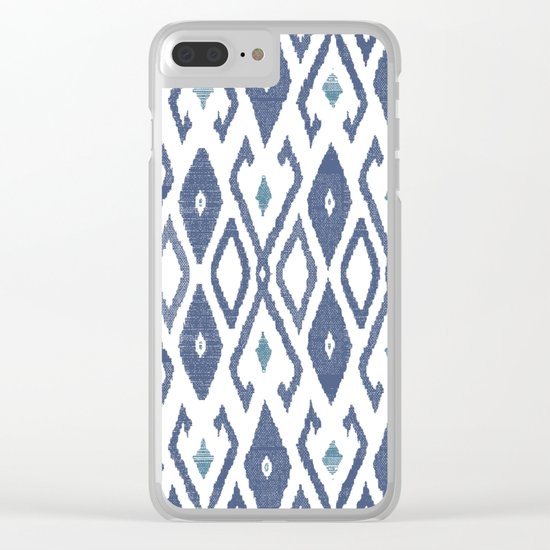 Ikat Clear iPhone Case