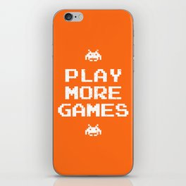 Play more games iPhone Skin