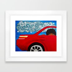 Passing Dreams Framed Art Print