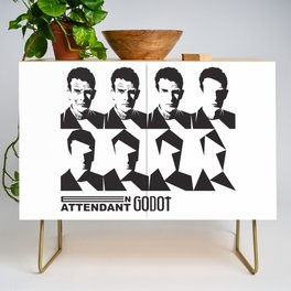 Samuel Beckett-En attendant Godot-Waiting for Godot Credenza