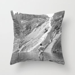 Bare Nature Throw Pillow