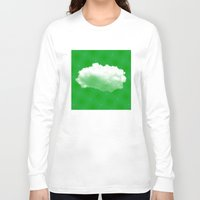 cloud Long Sleeve T-shirts featuring Cloud by Mr and Mrs Quirynen