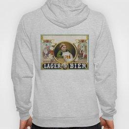 Vintage Lager Beer Advertisement Hoody