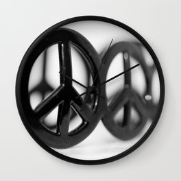 All we need is peace Wall Clock