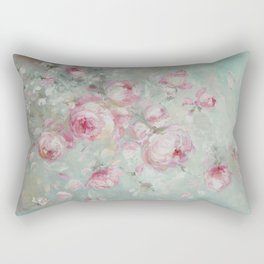 Whispering Petals Rectangular Pillow