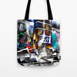 Bowery Graffiti Tote Bag