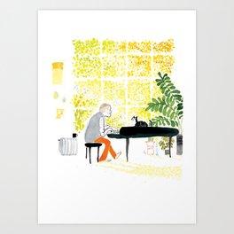I love you, Porgy. Art Print