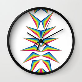 Delta Diamond Wall Clock
