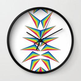 Delta Diamond Wall Clock