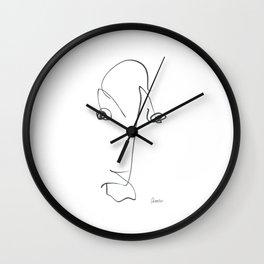Demeter Moji d17 4-4 w Wall Clock
