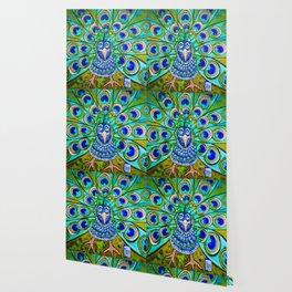 Jo Jo's Peacock Wallpaper