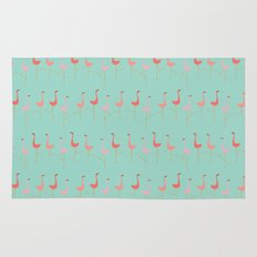 MARCH OF THE FLAMINGOS Rug