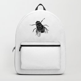 Drawing house-fly Backpack