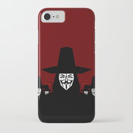 Million Mask March iPhone Case