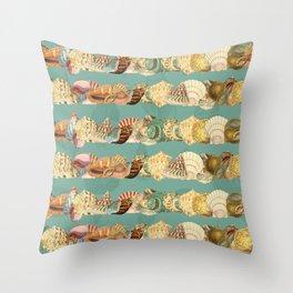 Sea shells pattern 3 Throw Pillow
