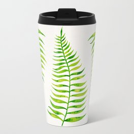Lime Palm Leaf Travel Mug