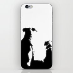 even dogs fall in love iPhone & iPod Skin