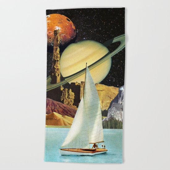 Orinoco Flow Beach Towel
