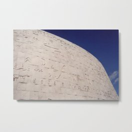 New Library of Alexandria Metal Print