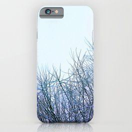 Naked branches   iPhone Case