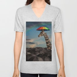 Stand Out From the Crowd Unisex V-Neck