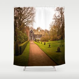 Country Home Goals Shower Curtain