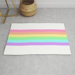 Pastel Rainbow 5 Rug