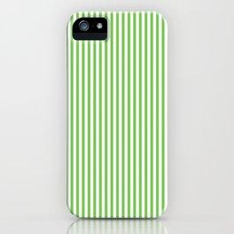 Green Flash Stripes iPhone Case