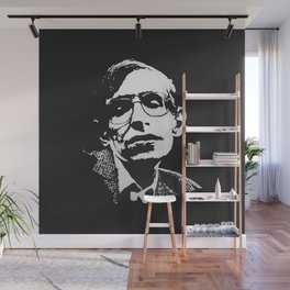 STEPHEN HAWKING - EMPATHY quote Wall Mural