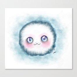 fluffy kawaii Canvas Print