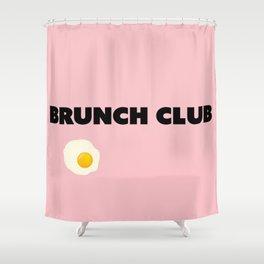 brunch club Shower Curtain