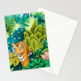 Jungle Tiger Stationery Cards