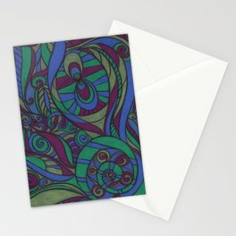 Spiral Dreams Stationery Cards