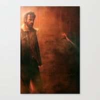 walking dead Canvas Prints featuring Walking Dead by Varsha Vijayan