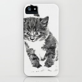 Cutest kitten iPhone Case