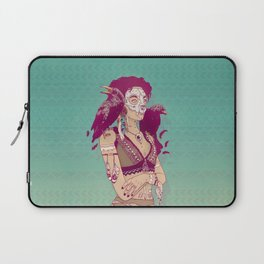 Raven Lady Laptop Sleeve