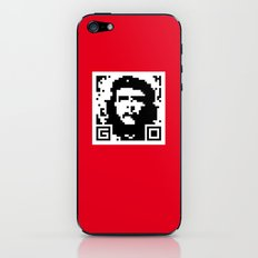 QR- Che iPhone & iPod Skin