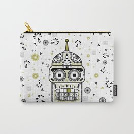 Sugar Bot Skull Carry-All Pouch