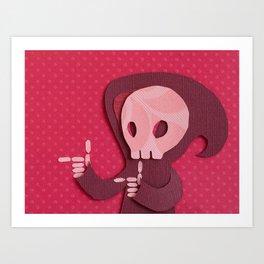 Grim Art Print