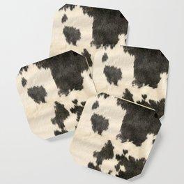 Black & White Cow Hide Coaster