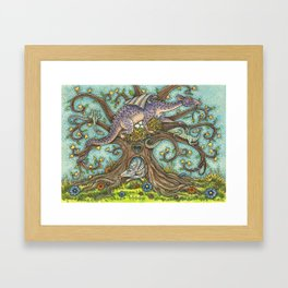 DRAGON TREE Framed Art Print