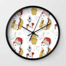 Kumari Wall Clock