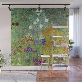 Flower Garden - Gustav Klimt Wall Mural