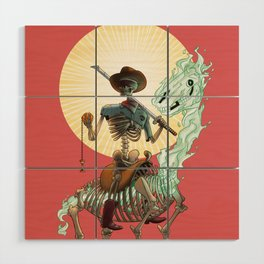 The Bone Ranger Wood Wall Art