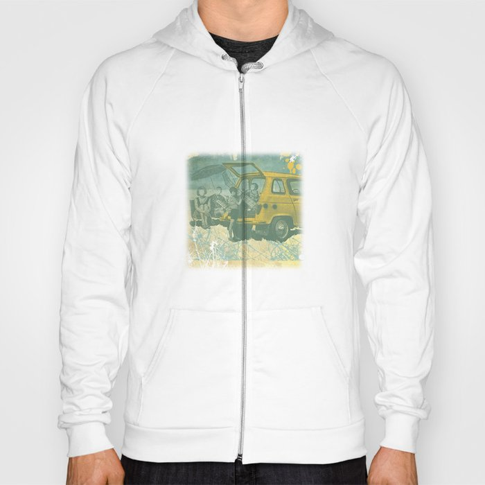 when i was young _ model planes and station wagons Hoody