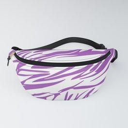 Purple Pattern Fanny Pack