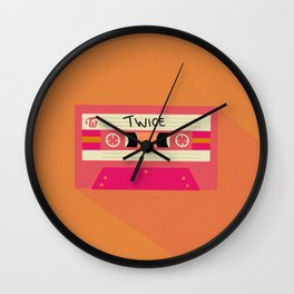 Twice - Retro - Kpop Wall Clock