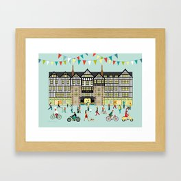 Art Print of Liberty of London Store - Daytime Framed Art Print