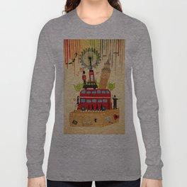 Rainbow Cities ~ London Long Sleeve T-shirt