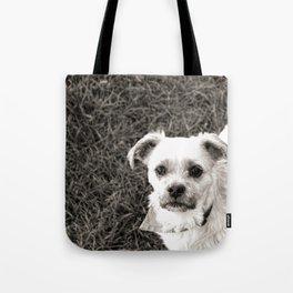 Fudge black and white Tote Bag